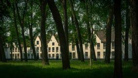 Monastary a Bruges Fotografie Stock Libere da Diritti