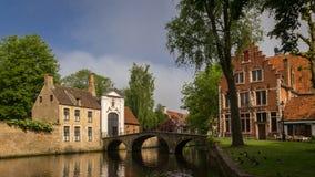 Monastary in Bruges Stock Photo