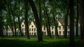 Monastary in Bruges Royalty Free Stock Photos