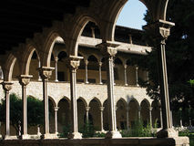 Monastary of pedralbes Royalty Free Stock Photos