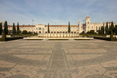 Monasteiro dos Jeronimos. Lisbon. Portugalia Obrazy Royalty Free