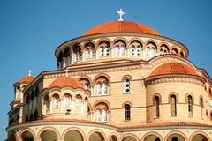 Monaster święty Nectarios Aegina Zdjęcia Stock
