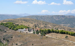 Monaster Agia Marina przy Argos Peloponnese, Grecja Obraz Royalty Free