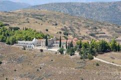 Monaster Agia Marina przy Argos Peloponnese, Grecja Zdjęcia Stock