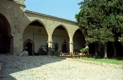 Monaster, Agia Napa, Cypr Obrazy Royalty Free