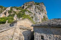 Monaster Agia Paraskevi Monodendri, Grecja Obrazy Stock