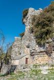 Monaster Agia Paraskevi w Północnym Grecja Zdjęcie Royalty Free