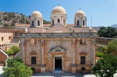 Monaster Agia Triada w Crete, Grecja Obraz Royalty Free