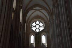 Monaster Alcobaca w Portugalia obrazy royalty free