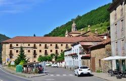 Monaster corias corias Spain obrazy stock