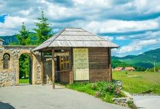 Monaster Giurgiovi jest w Montenegro zdjęcie royalty free