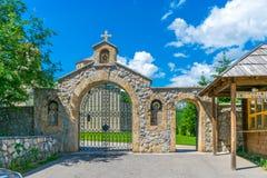 Monaster Giurgiovi jest w Montenegro obrazy stock