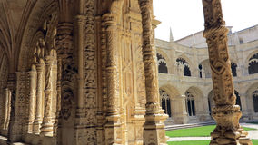 Monaster jeronimos, Lisbon Zdjęcia Royalty Free