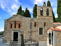 Monaster Ker Kardiotissa. Crete, Grecja Fotografia Stock
