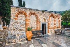 Monaster Ker Kardiotissa na Crete wyspie, Grecja zdjęcie stock