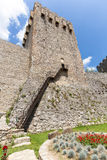 Monaster Manasija w Serbia, forteca obraz stock