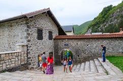 Monaster Moraca, Montenegro Zdjęcia Stock