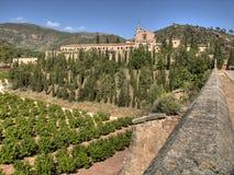 Monaster Portaceli Zdjęcie Royalty Free