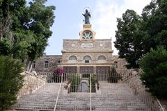 Monaster Regina Palestina Fotografia Royalty Free