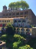 Monaster Serra robi Pilar zdjęcia stock
