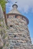 monaster solovetsky obraz stock
