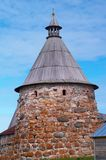 monaster solovetsky góruje Fotografia Royalty Free