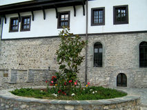 Monaster St John baptysta, Macedonia Zdjęcia Royalty Free
