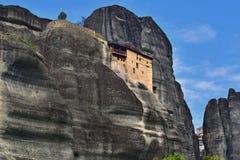 Monaster St Nikolaos Anapafsas, Meteor, Grecja Obrazy Stock