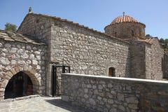 Monaster Thari na wyspie Rhodes Obraz Royalty Free