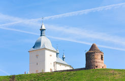 monaster transfiguracja Ukraine Obraz Royalty Free