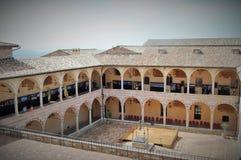 Monaster w Assisi zdjęcie royalty free