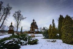 Monaster w Krekhiv, Ukraina blisko Lviv zdjęcia royalty free