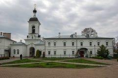 Monaster w miasteczku Novopolotsk Białoruś zdjęcie royalty free