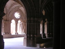 Monaster w Zaragoza Obrazy Stock