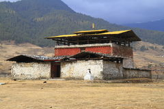 Monaster Wangdue Phodrang fotografia stock