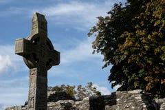 Monasterboice en Irlanda Imagenes de archivo