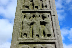 Monasterboice engravings Royalty Free Stock Image