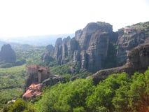Monasteri di Meteora, Grecia - immagine di riserva Fotografie Stock Libere da Diritti