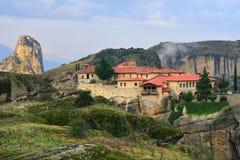 Monasteri di Meteora La Grecia Immagini Stock