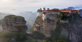 Monasteri di Meteora La Grecia Fotografie Stock Libere da Diritti