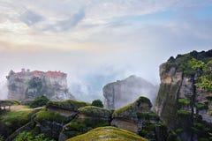 Monasteri di Meteora La Grecia Fotografia Stock Libera da Diritti
