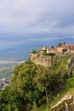 Monasteri di Meteora La Grecia Fotografia Stock