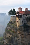 Monasteri di Meteora La Grecia Immagini Stock Libere da Diritti