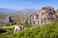 Monasteries of Meteora Stock Images