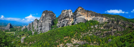 Monasteries of Meteora, Greece landmark Royalty Free Stock Image