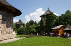 Monasteries of Moldavia: Moldovita Stock Photo