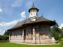 Monasteries of Moldavia: Moldovita royalty free stock photos