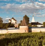 Monasteries of Russia. Monasteries, Mozhaisk, Russia, Church royalty free stock image