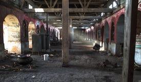 Monasterio abandonado Imágenes de archivo libres de regalías