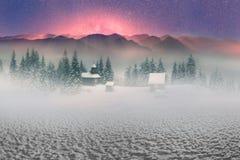 Monasterio alpino solitario Imagen de archivo libre de regalías